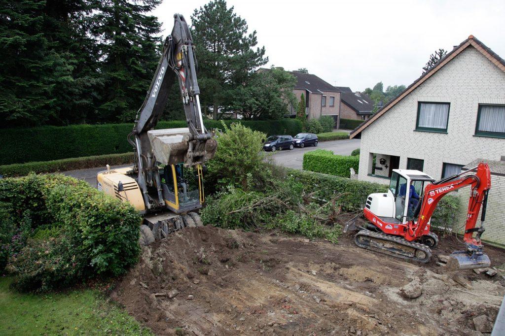 plac budowy domu